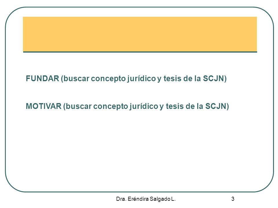 Dra.Eréndira Salgado L. 4 Recurso. Etimología Recurso: (Del lat.