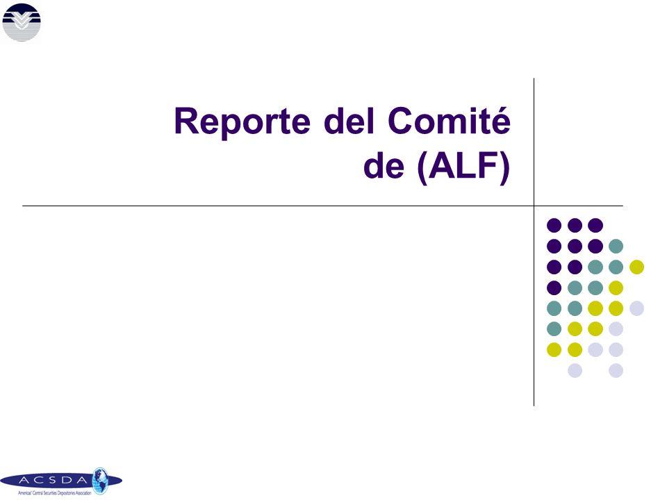 Reporte del Comité de (ALF)