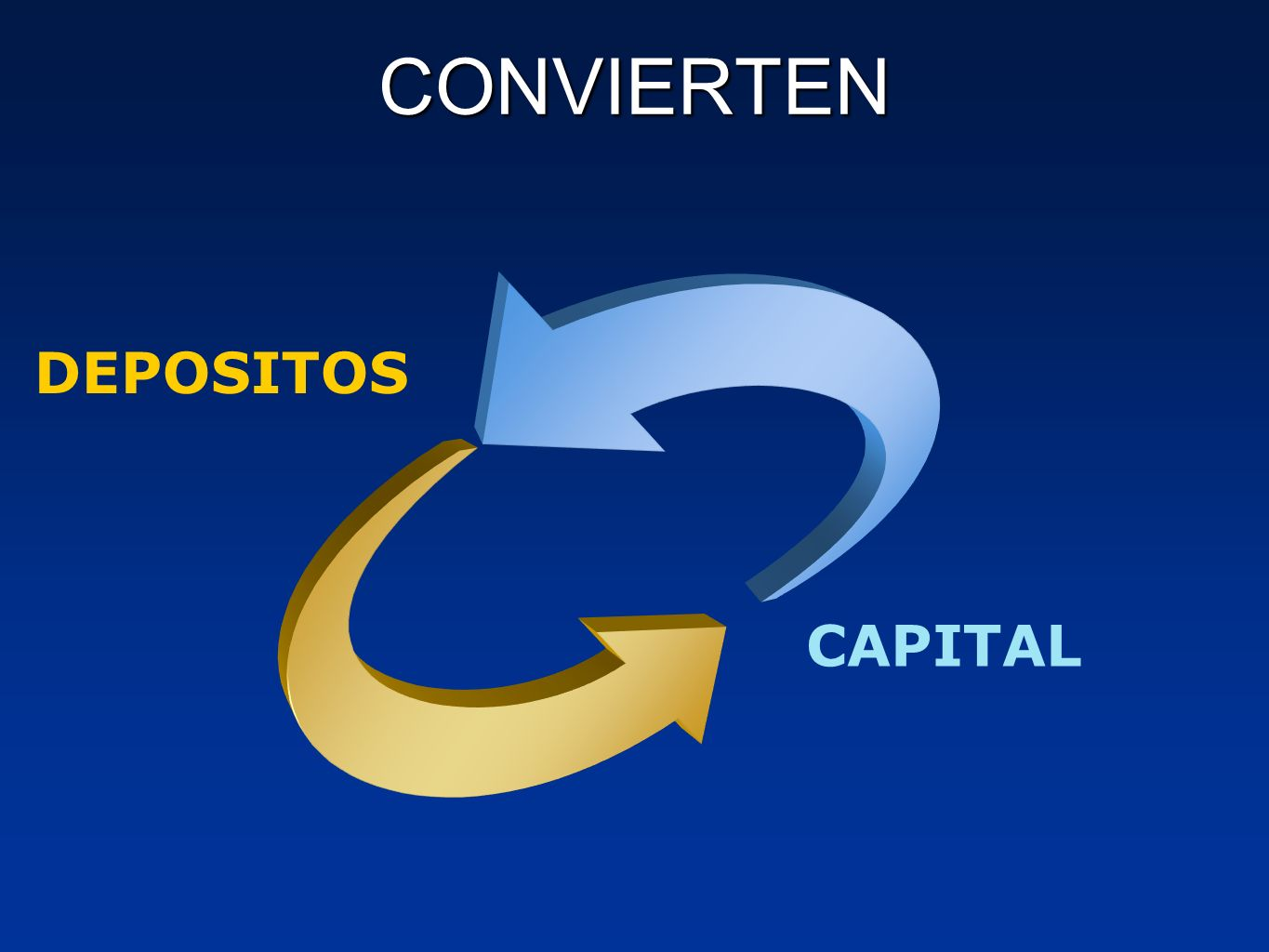 CONVIERTEN DEPOSITOS CAPITAL