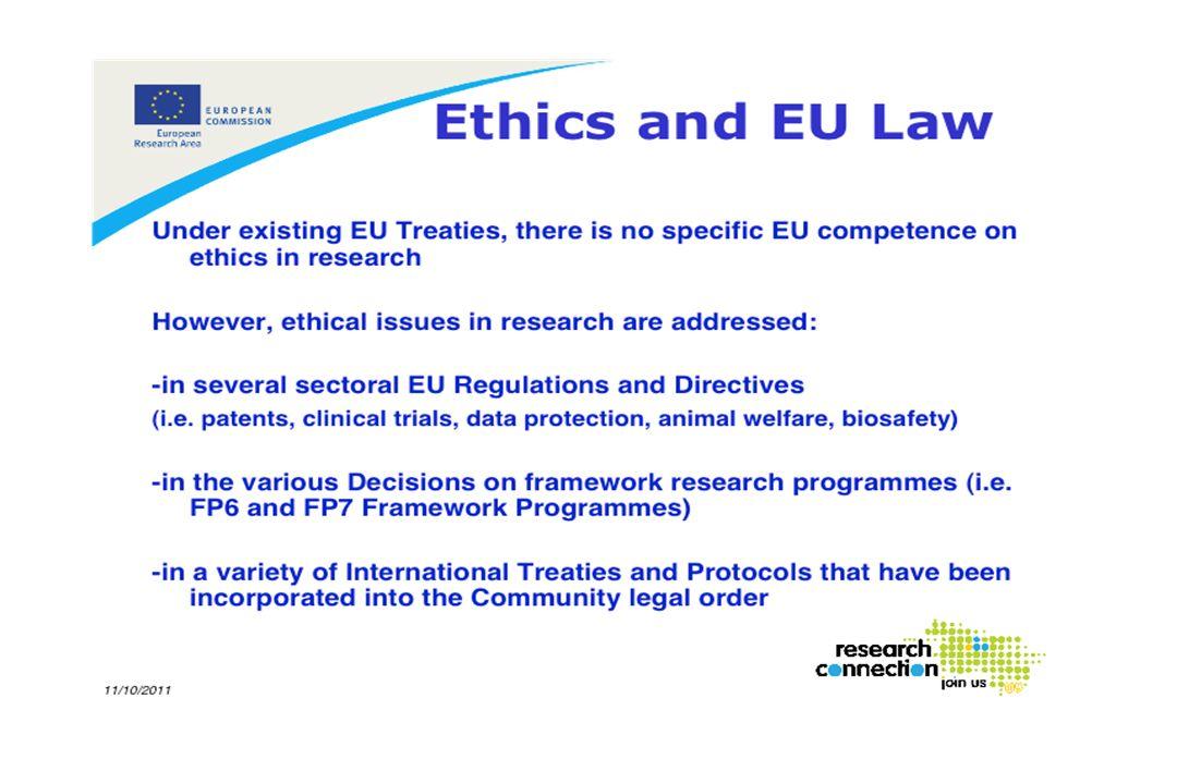 Prácticamente cualquier actividad en el entorno de la biomedicina tiene repercusión ética