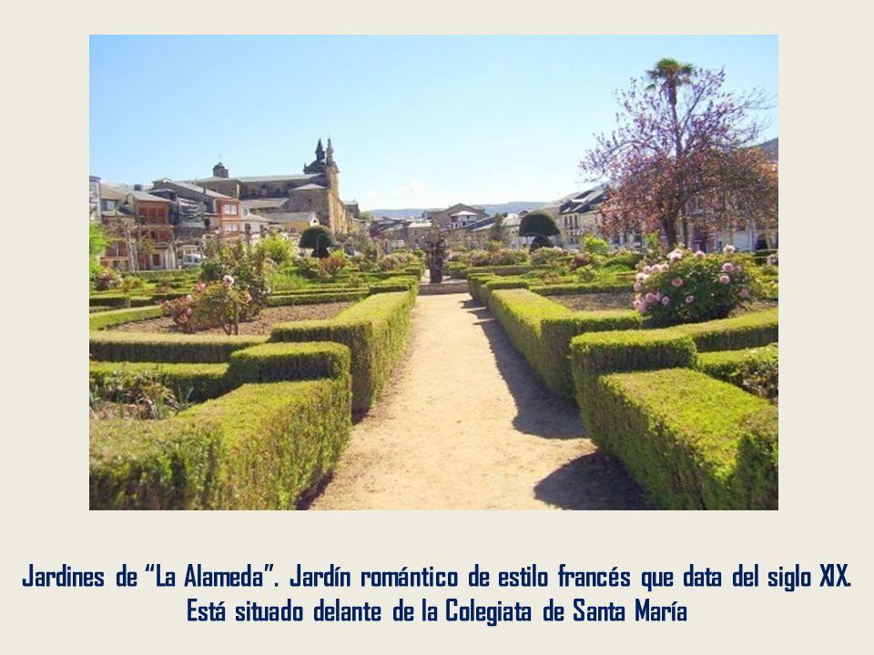 La Colegiata de Santa María Fue construida sobre el antiguo monasterio de Santa María de Cluniaco entre los siglos XVI y XVII. Es mezcla de gótico y h