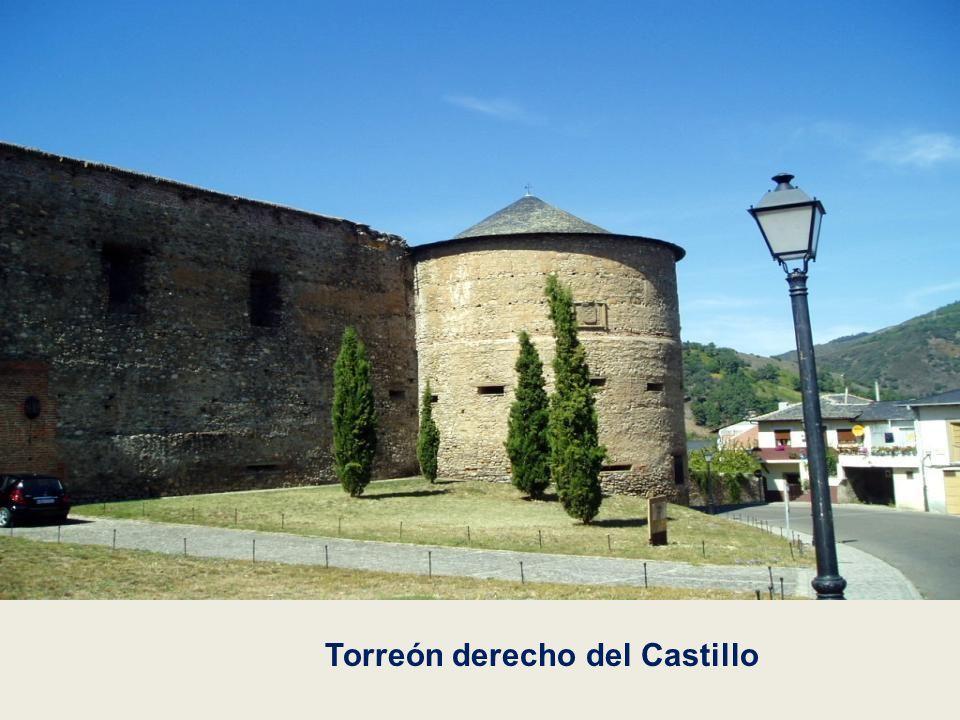 Castillo de Villafranca del Bierzo Construido en el siglo XVI por Pedro de Toledo. Es una edificación fortificada con macizos torreones coronados por
