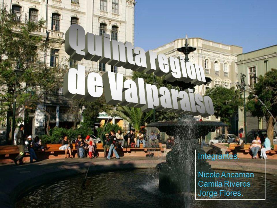 Introducción: _ En esta presentación se dará a conocer la Importancia de la quinta región dentro de Nuestro país.