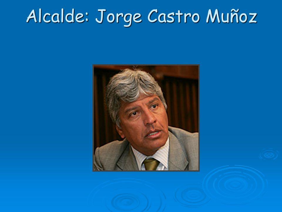 Alcalde: Jorge Castro Muñoz