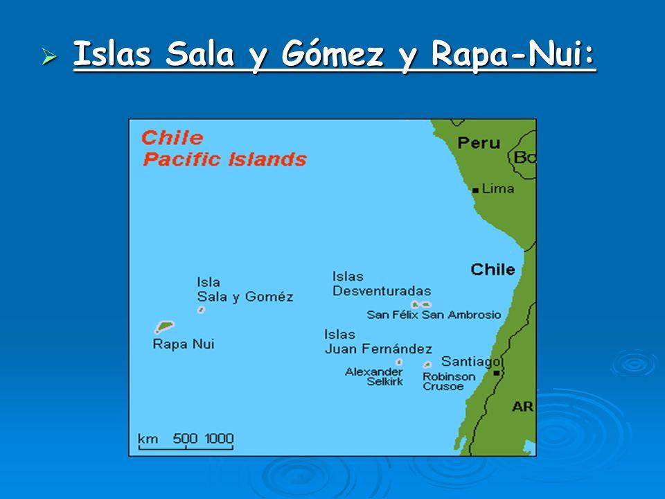 Islas Sala y Gómez y Rapa-Nui: Islas Sala y Gómez y Rapa-Nui: