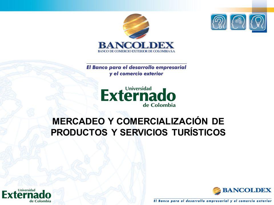 MERCADEO Y COMERCIALIZACIÓN DE PRODUCTOS Y SERVICIOS TURÍSTICOS
