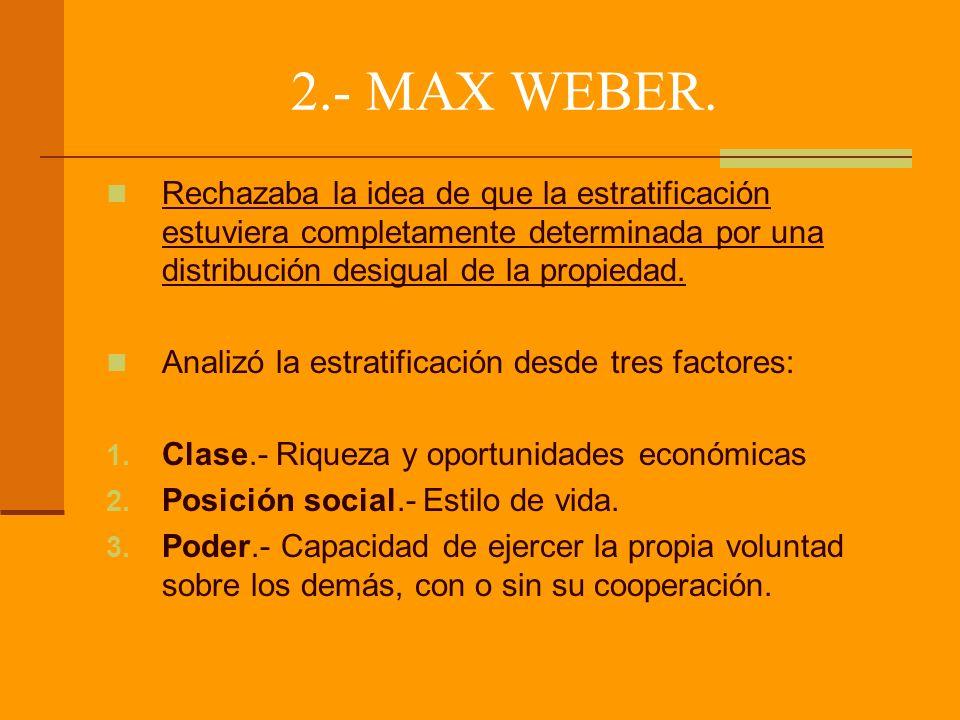 2.- MAX WEBER.