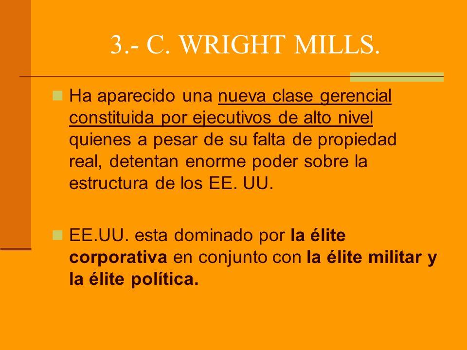 3.- C.WRIGHT MILLS.
