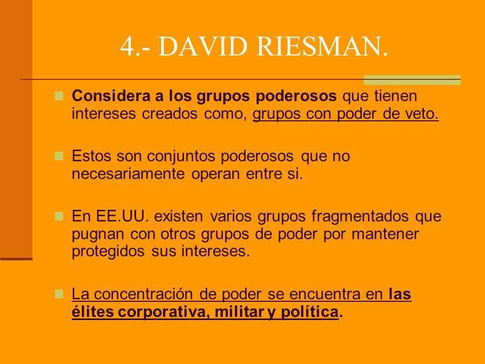 4.- DAVID RIESMAN.