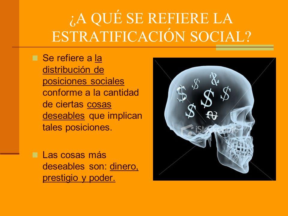 SINOPSIS DE AUTORES QUE HAN CONTRIBUIDO AL ANÁLISIS DE LA ESTRATIFICACIÓN SOCIAL.
