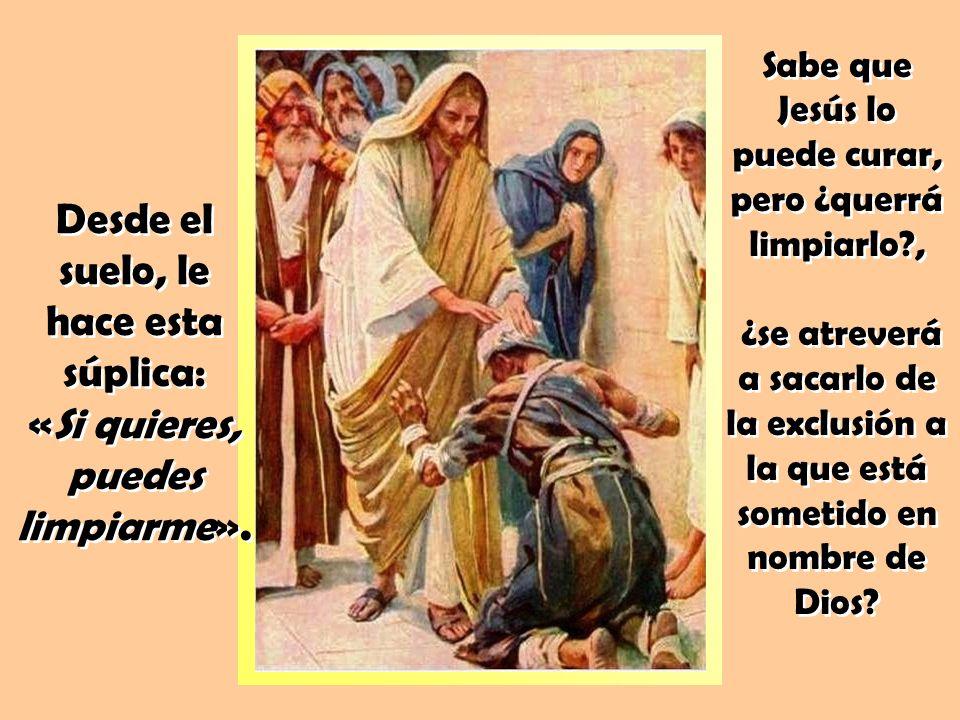 DIOS ACOGE A LOS «IMPUROS» De forma inesperada, un leproso «se acerca a Jesús».