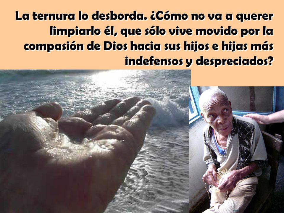 Sorprende la emoción que le produce a Jesús la cercanía del leproso. No se horroriza ni se echa atrás. Ante la situación de aquel pobre hombre, «se co