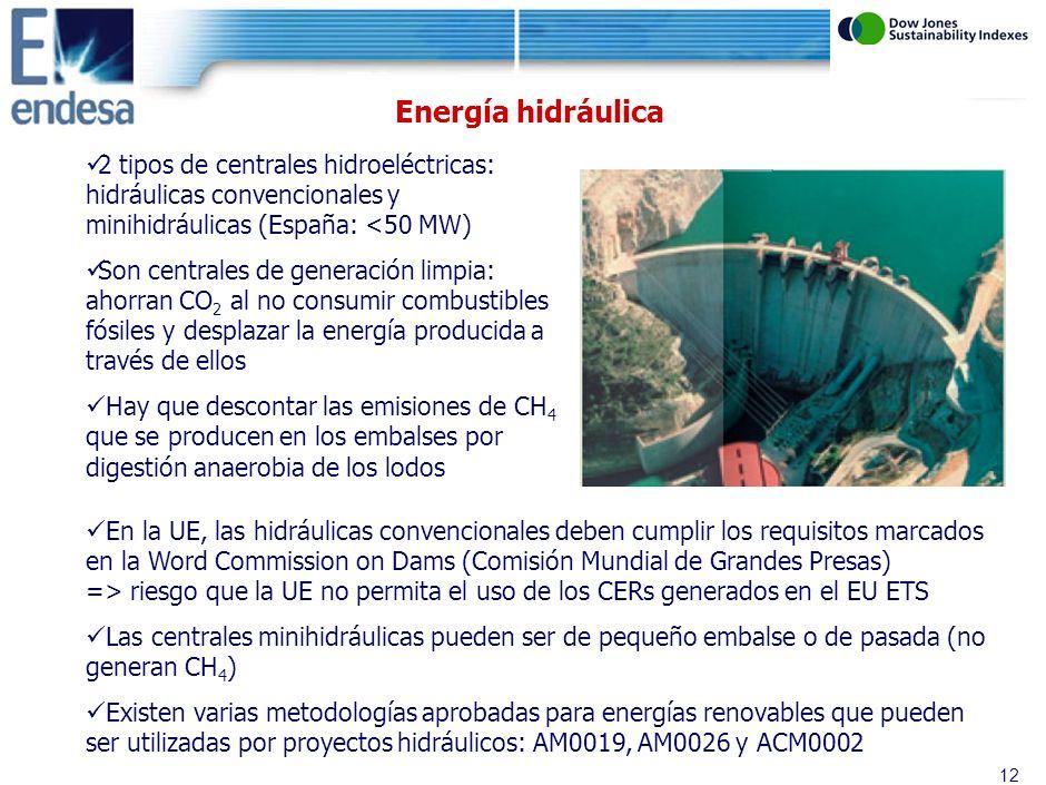 11 Tipo de proyectos eléctricos Estado actual de los proyectos eléctricos en el MDL Conclusiones