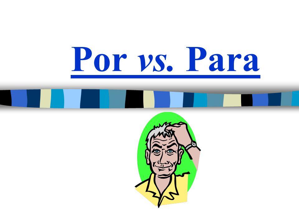 Por = A means of transportation Used to indicate means of transportation or how something travels Viajamos por avión.