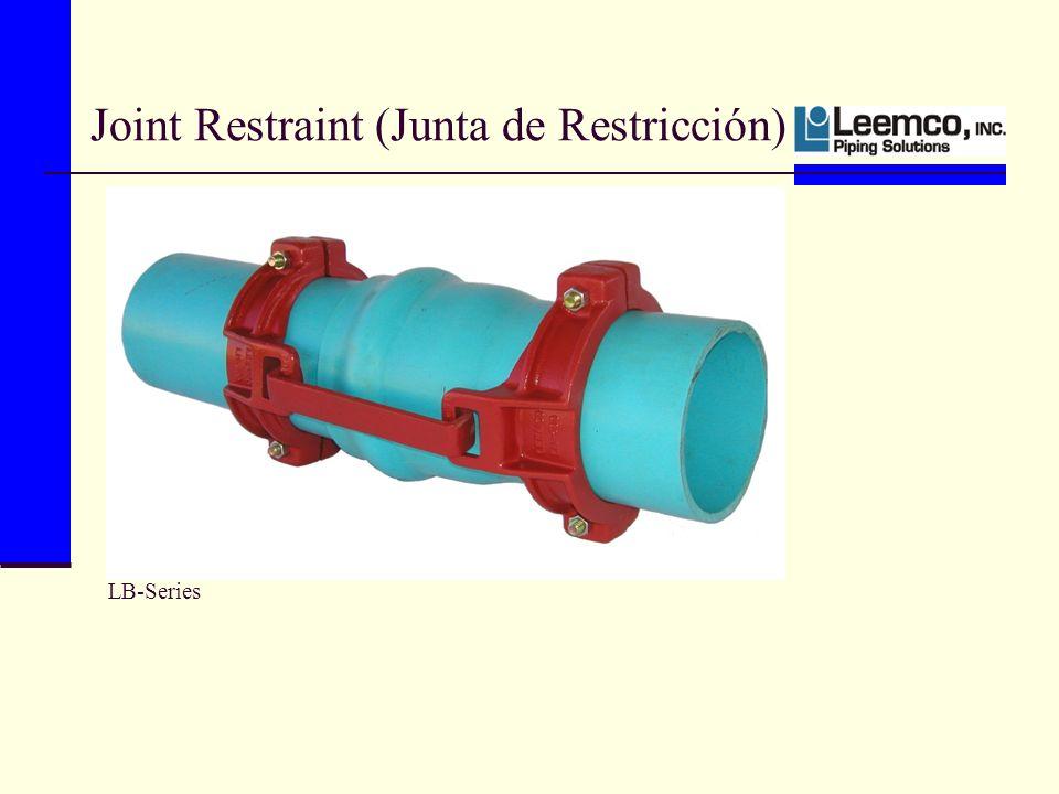 LB-Series Joint Restraint (Junta de Restricción)