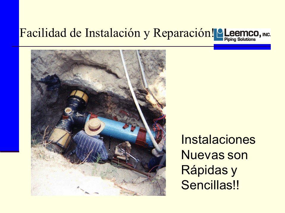 Facilidad de Instalación y Reparación! Instalaciones Nuevas son Rápidas y Sencillas!!