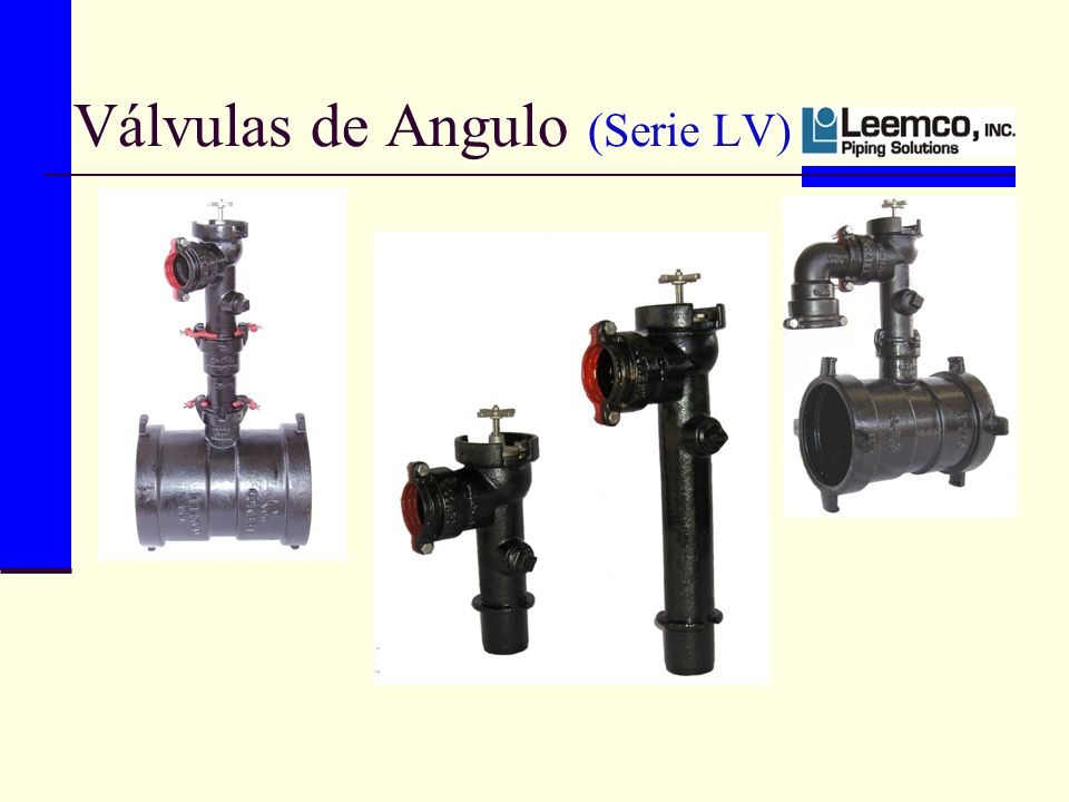 Válvulas de Angulo (Serie LV)