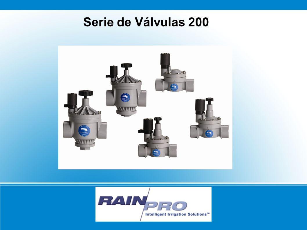 Serie de Válvulas 200