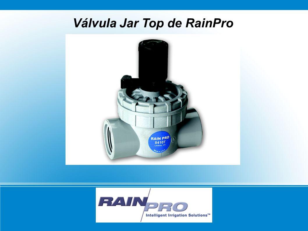 Válvula Jar Top de RainPro