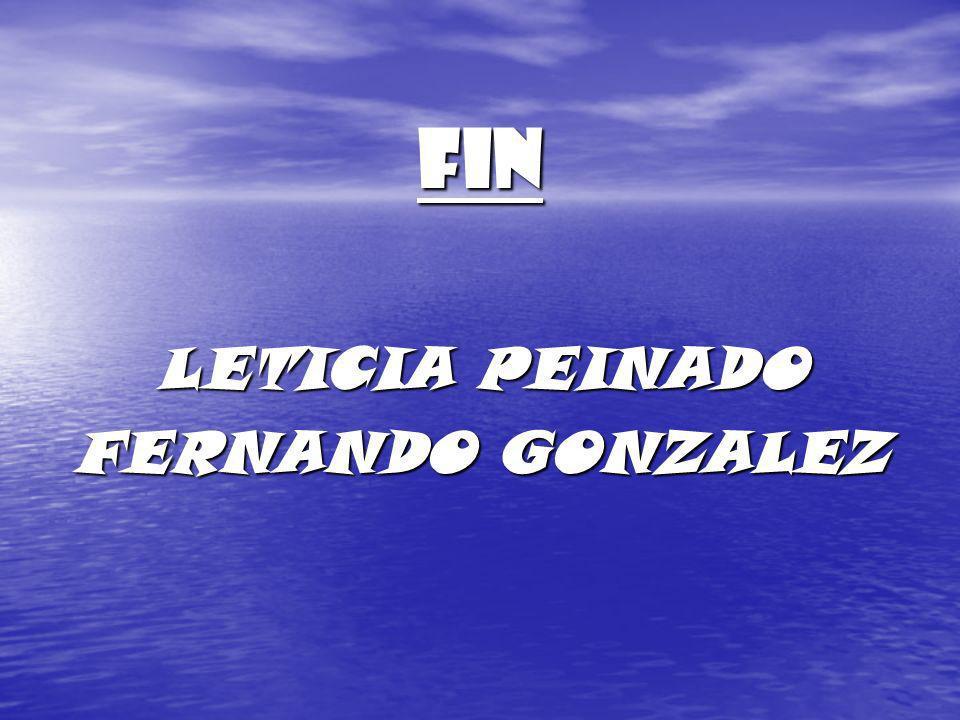 FIN LETICIA PEINADO FERNANDO GONZALEZ