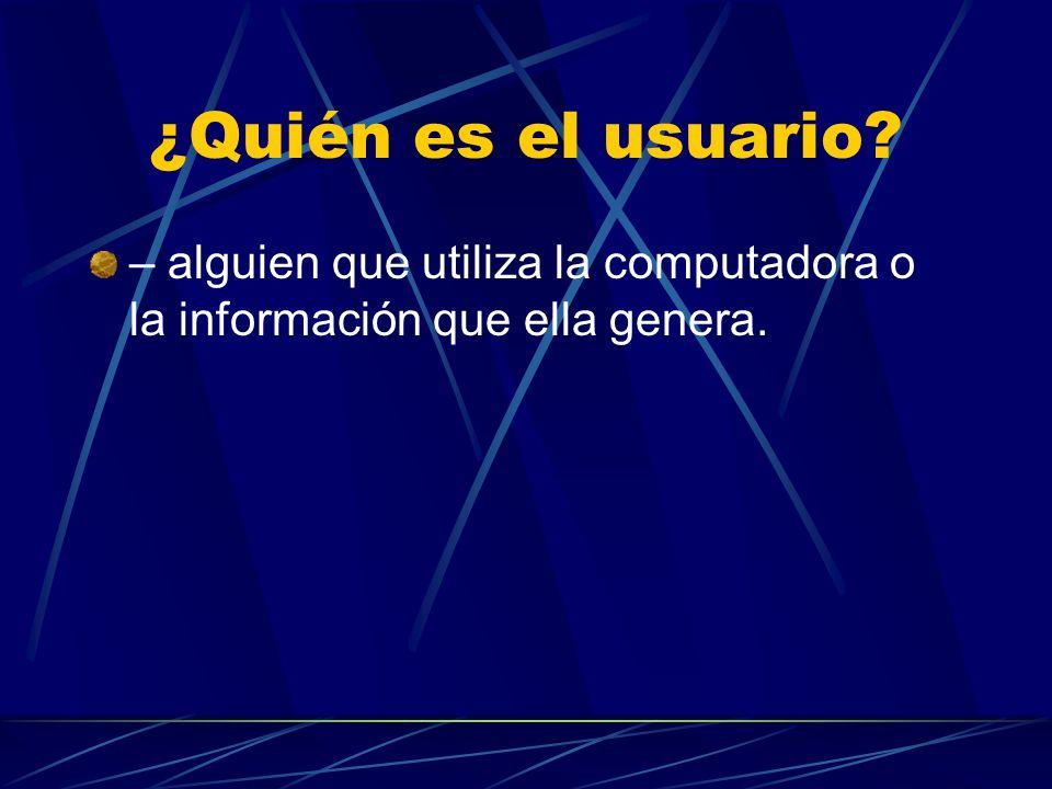 LA COMPUTADORA Es una máquina electrónica que procesa grandes cantidades de información en forma automática.