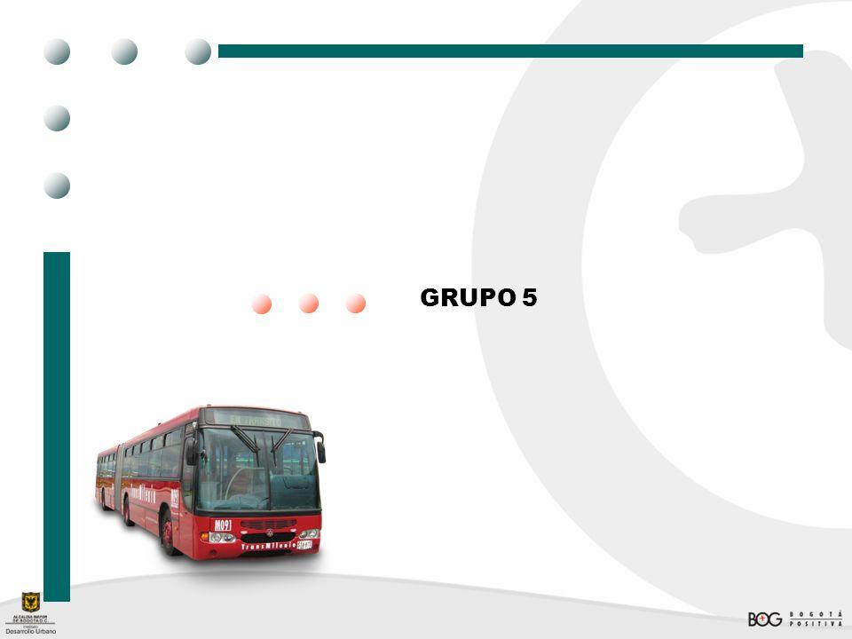 Grupo 5 Cto.138 de 2007 CONTRATISTA: INFRAESTRUCTURAS URBANAS S.A.
