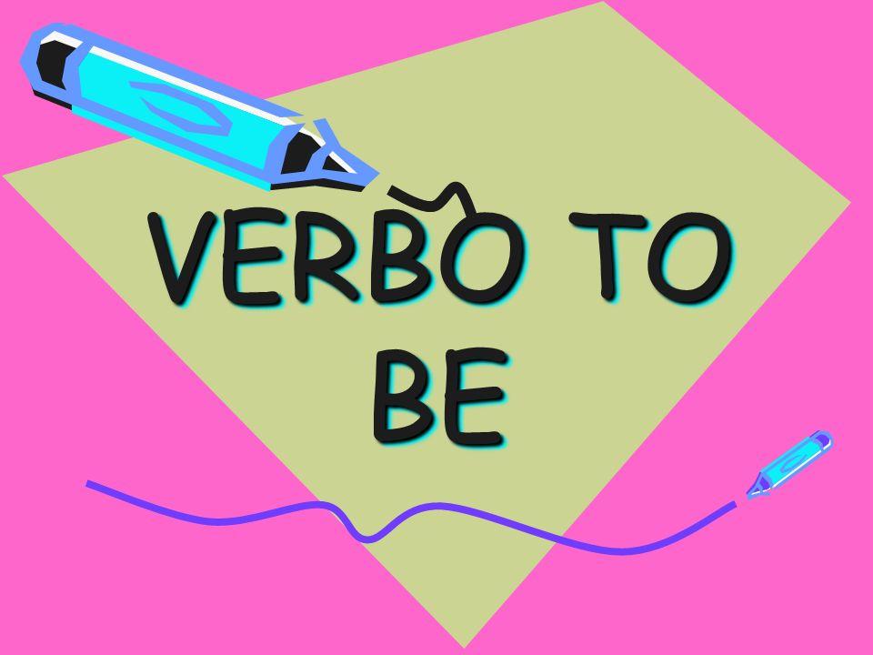 ¿ QUE ES EL VERBO TO BE .