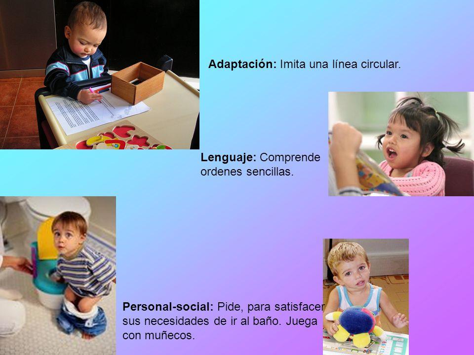 El infante ya camina y corre, articula palabras, frases; adquiere el control de la vejiga y el recto, además, un básico sentido de identidad personal