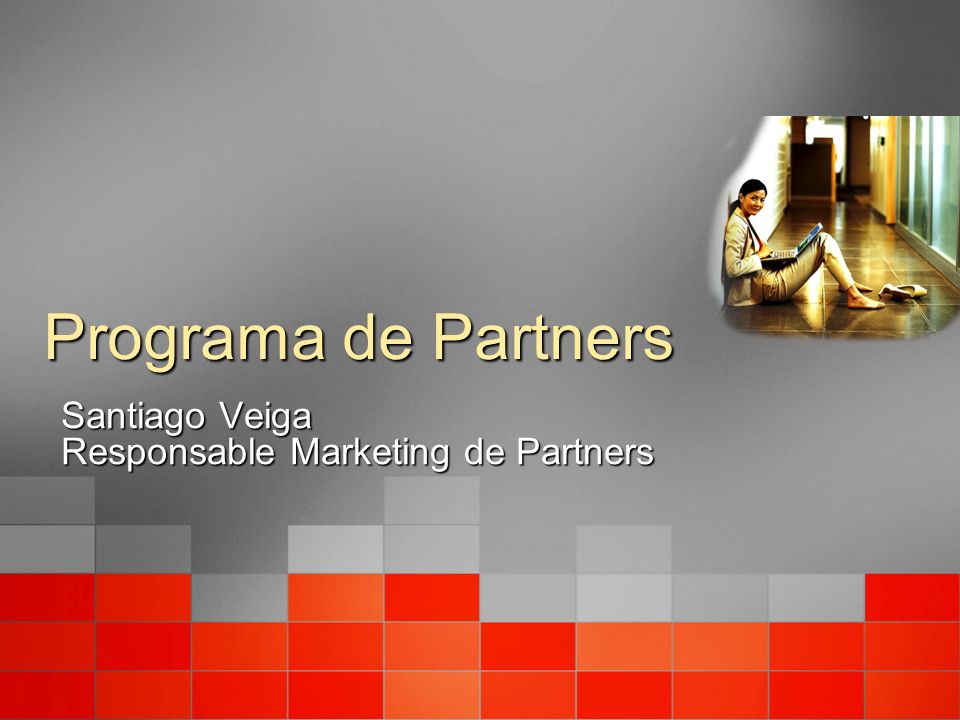 Programa de Partners Santiago Veiga Responsable Marketing de Partners