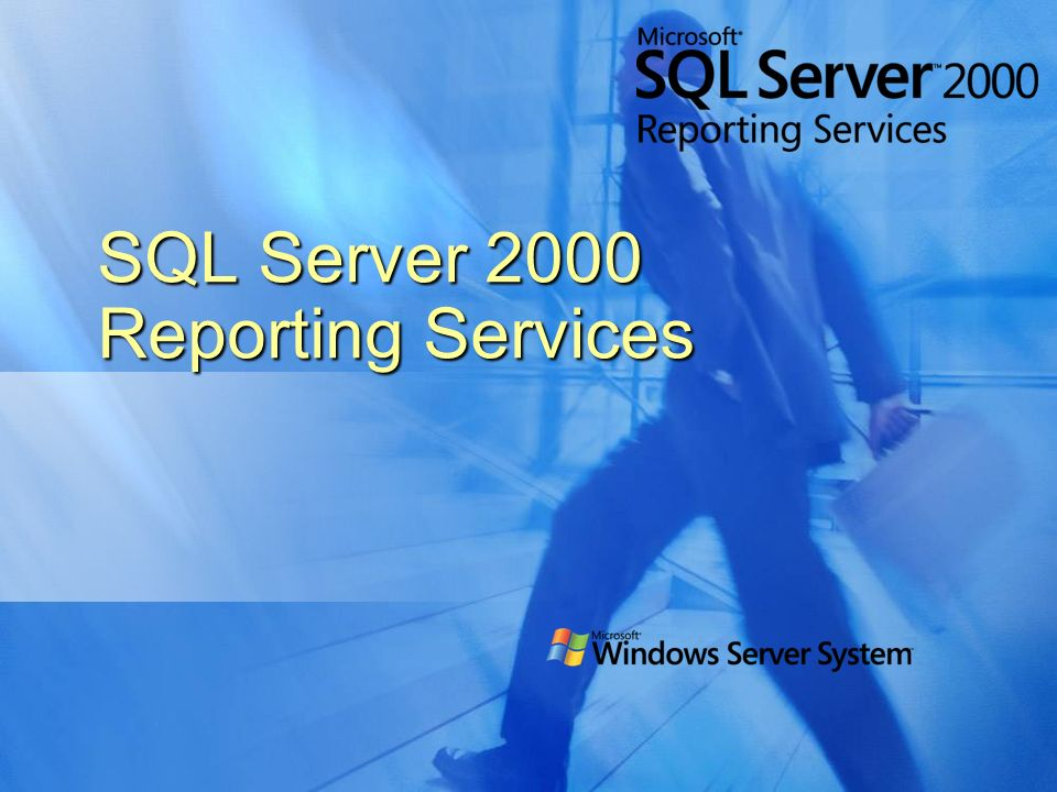 SQL Server 2000 Reporting Services