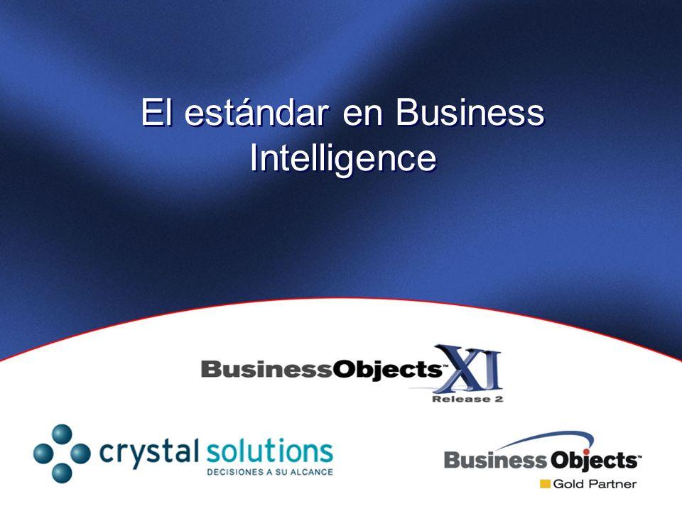 El estándar en Business Intelligence