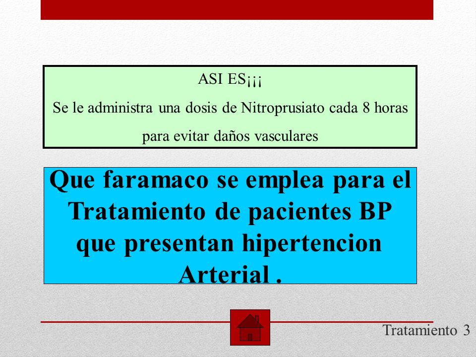 Dx 3 Cuales son las caracteristicas De riesgo en un BP? EXCELENTE¡¡ Las caracteristicas son la cantidad total y la naturaleza de la droga, integridad,