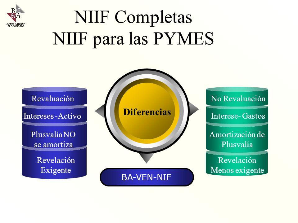 BA VEN NIF Nº 8 Principios de Contabilidad Generalmente Aceptados en Venezuela VEN-NIF La FCCPV no ha declarado la adopcion sin reserva de todas las N