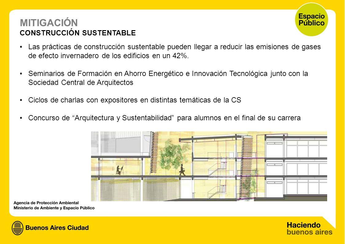 07.jpg CONSTRUCCIÓN SUSTENTABLE Las prácticas de construcción sustentable pueden llegar a reducir las emisiones de gases de efecto invernadero de los
