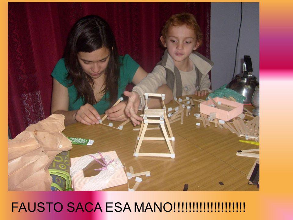 ENTRE MATE Y MATE… TRABAJAMOS MUCHOOOOO!!!
