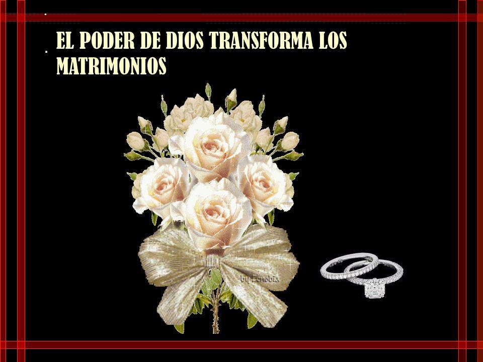 . UN MATRIMONIO DURADERO…….. NO ES IMPOSIBLE SI SE TOMAN EN CUENTA LAS REGLAS DE DIOS EN EL AMOR.
