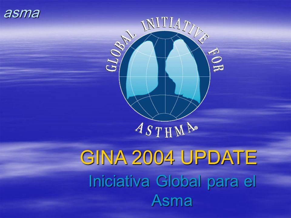 GINA 2004 UPDATE Iniciativa Global para el Asma asma