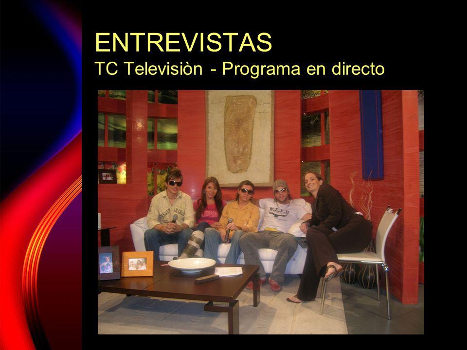 BARRA LIBRE GIRA ECUADOR 2006 PRODUCCIÓN SONOMAX MUSIC PRESENTACIÒN JCE PUBLICIDAD FOTOGRAFÌA Y VIDEO JUAN C.