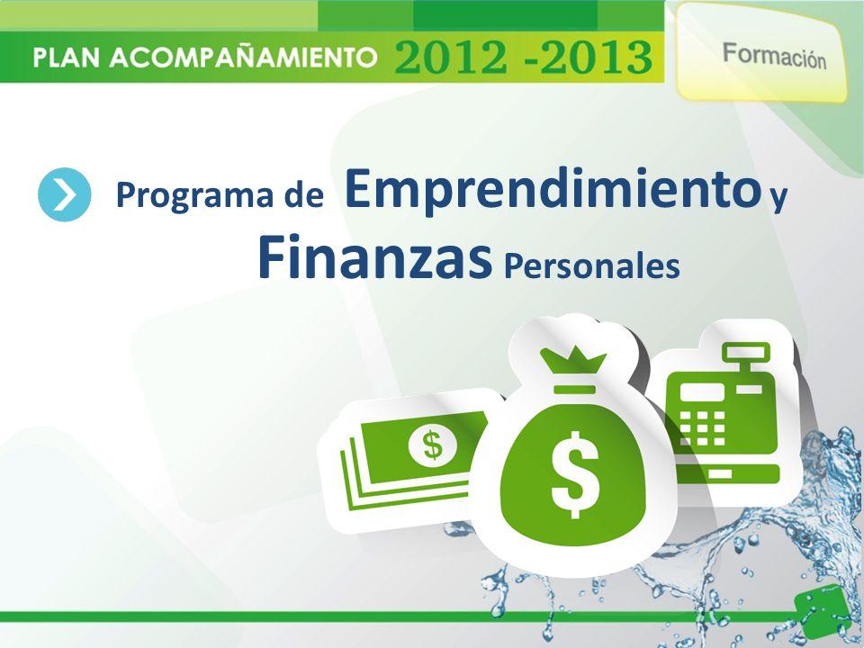 Programa de Emprendimiento y Finanzas Personales