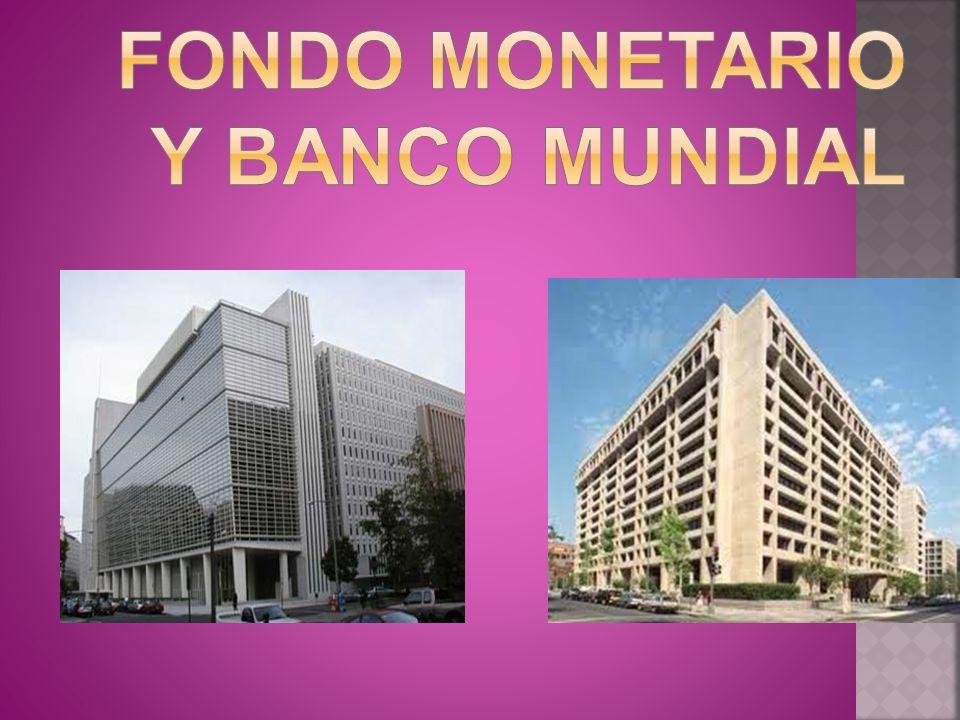 Fondo monetario internacional.-Definición. -Origen.