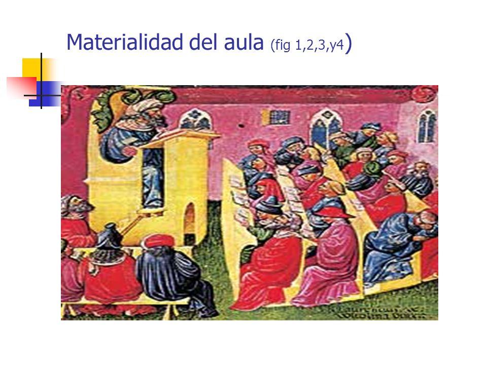 Materialidad del aula (fig 1,2,3,y4 )