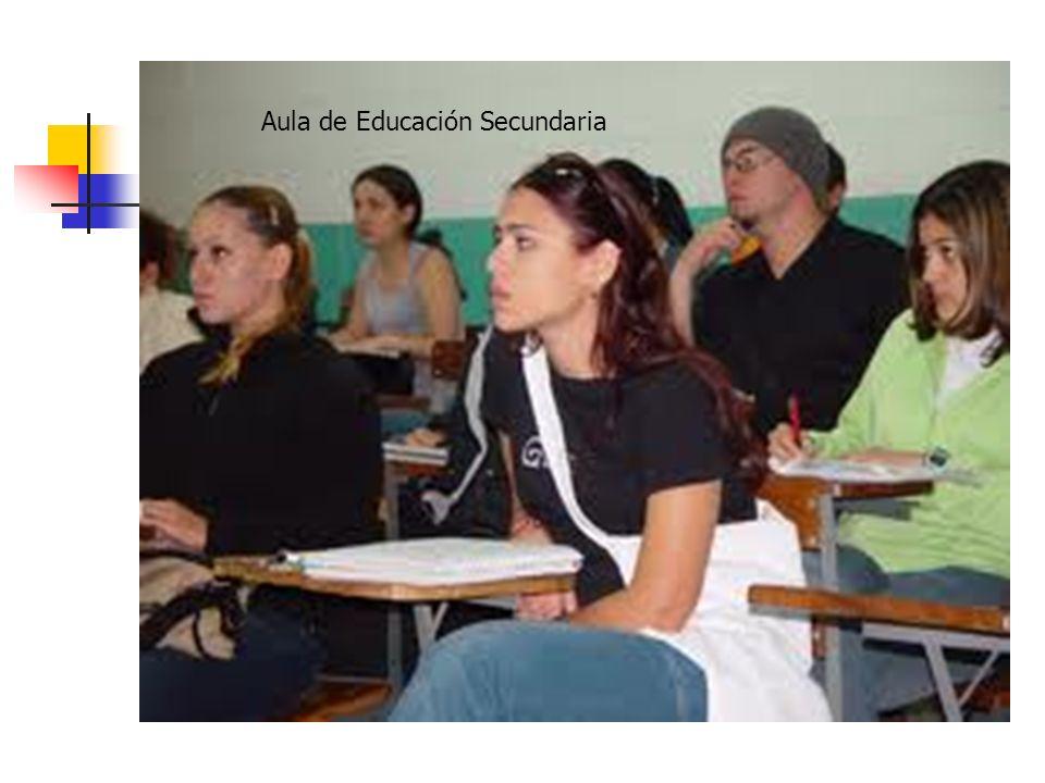 Aula de Educación Secundaria