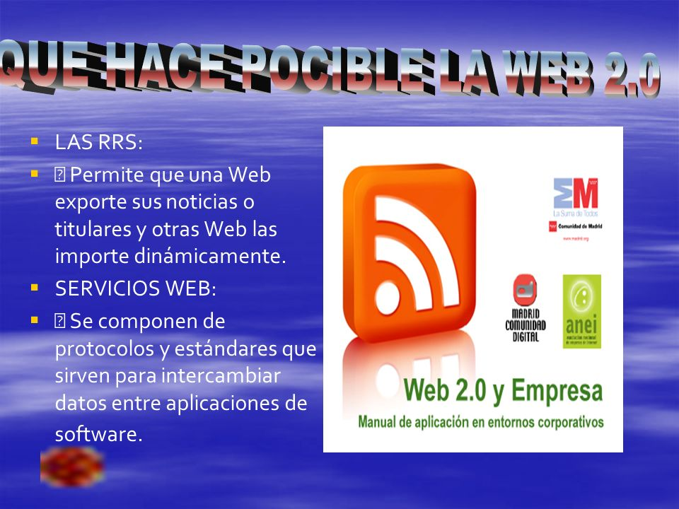 . WED WIKI BLOGS PODCAST VIDEOCAST TUENTI
