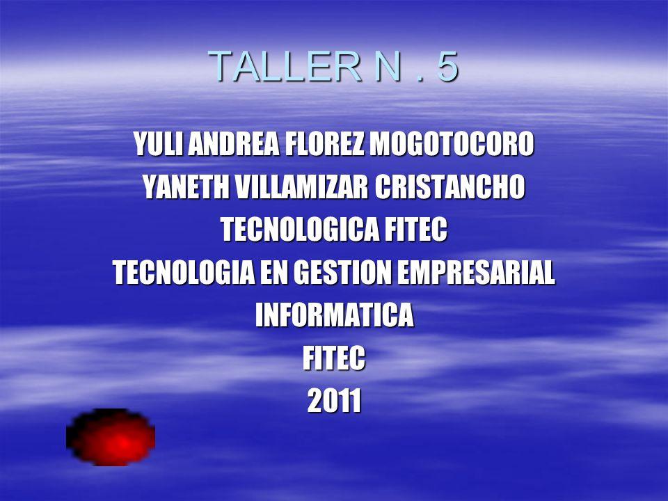 TALLER N.