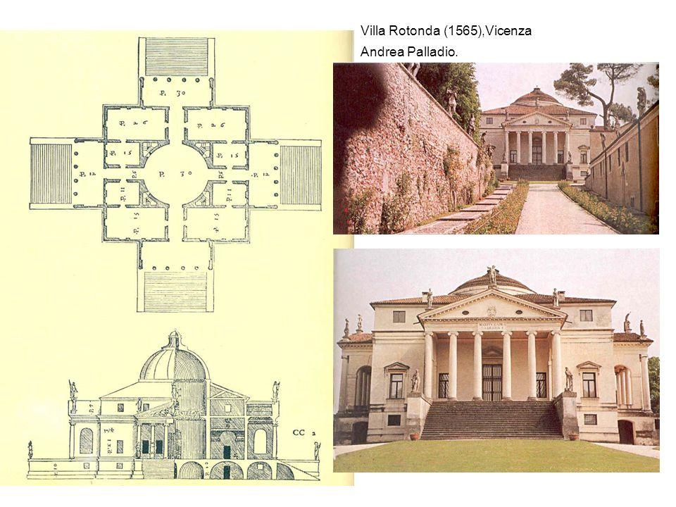 Andrea Palladio. Villa Rotonda (1565),Vicenza