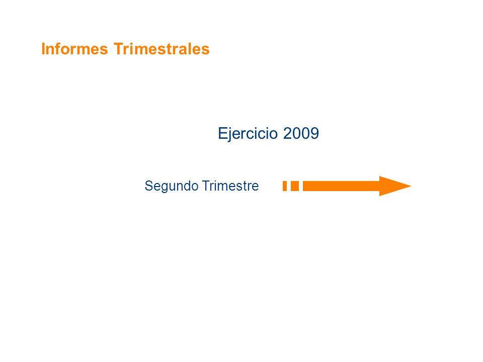 Informes Trimestrales Ejercicio 2009 Segundo Trimestre