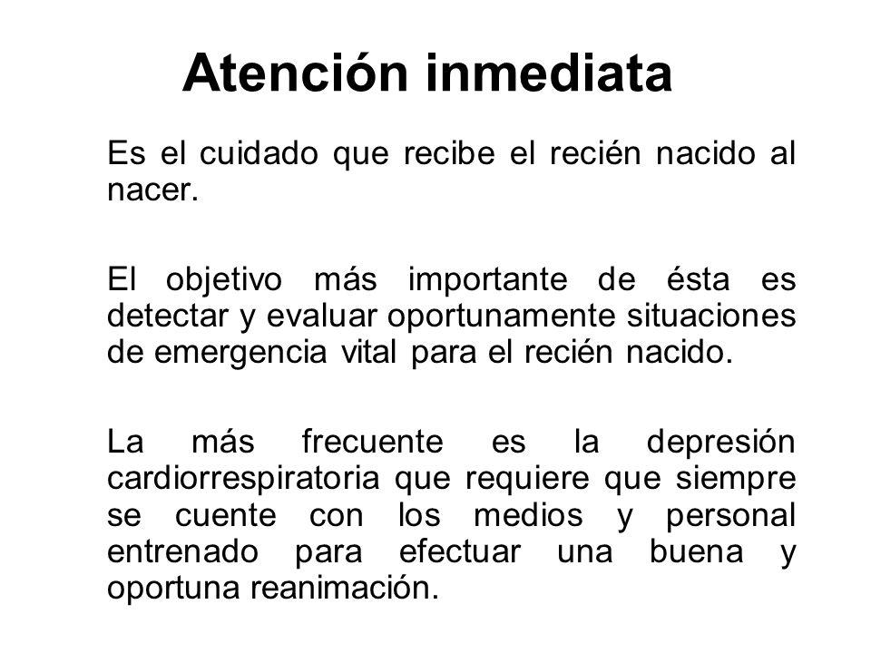 Atención inmediata