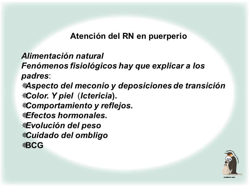 ATENCIÓN DEL RN EN PUERPERIO