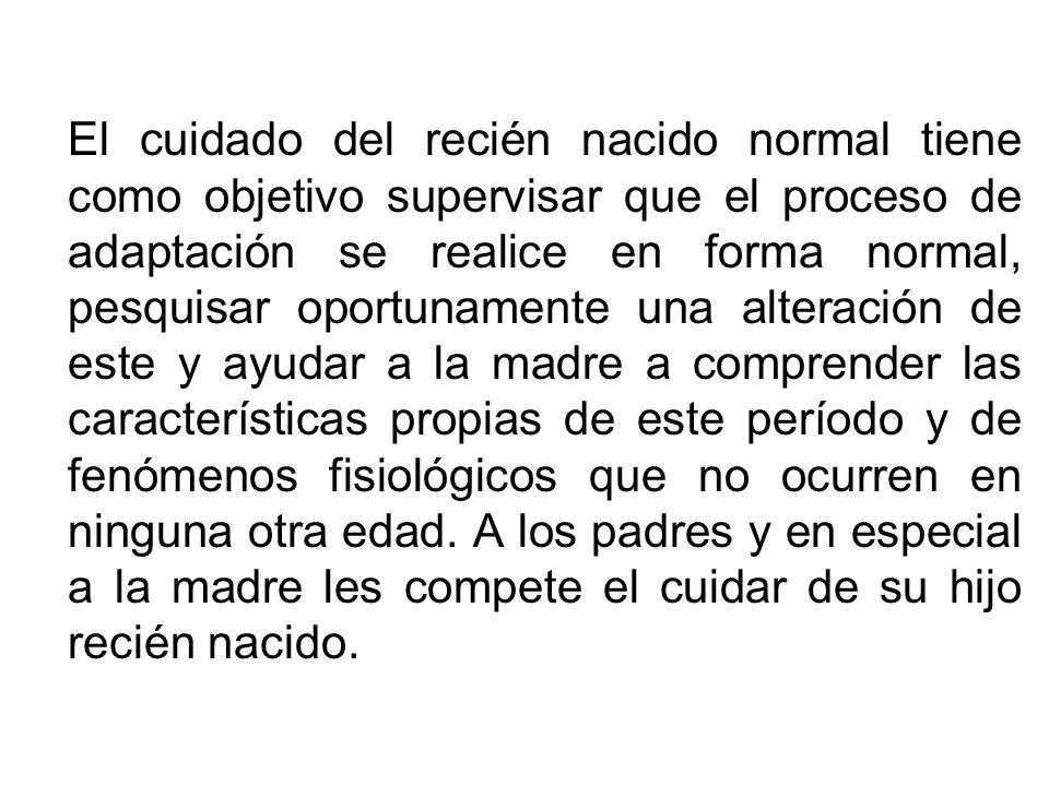 EL RECIEN NACIDO NORMAL: ATENCION INMEDIATA, CUIDADO DE TRANSICION PUERPERIO