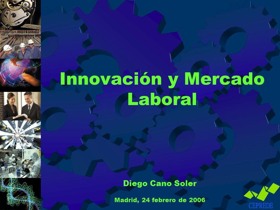 Innovación y Mercado Laboral Diego Cano Soler Madrid, 24 febrero de 2006